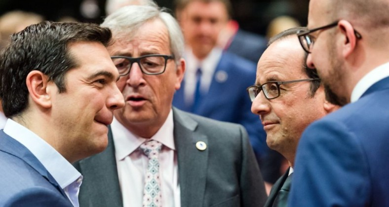 juncker tsipras hollande michel