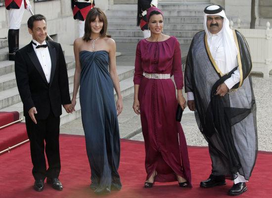 bruni qatar sarkozy