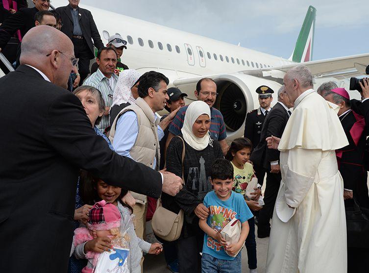 pape migrants
