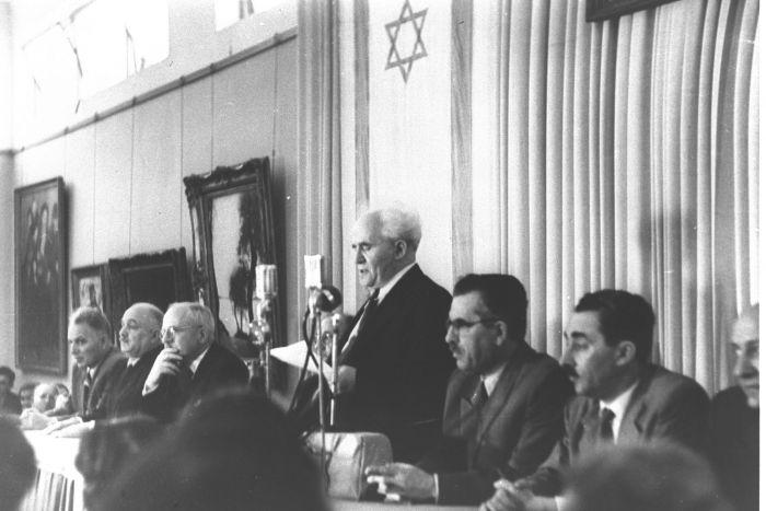 ben gourion 1948