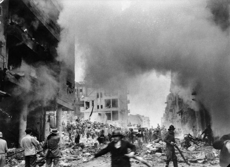 ben yehuda street 1948