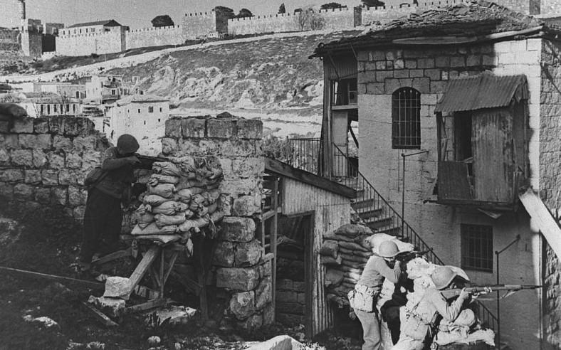JUIN 1948 JERUSALEM