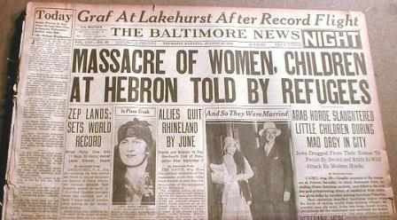 massacre hebron 1929