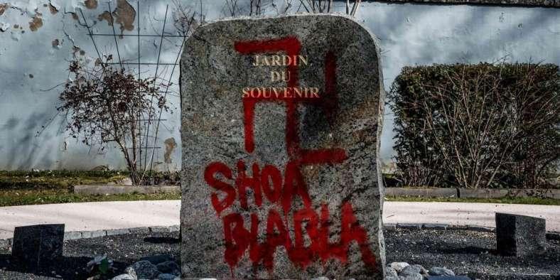 cimetière champagne au mont d'or antisémitisme fevrier 2019